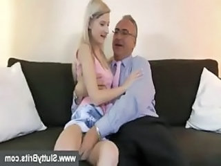 Blonde European Old and Young Teen