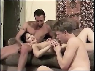 Bisexual European Threesome MMF