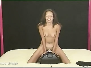 Cute European Teen Toy Sybian