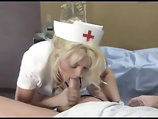 Blowjob Cumshot European Nurse Uniform Sperm