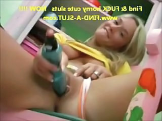 Blonde European Teen Toy
