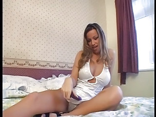 Babe British European Masturbating