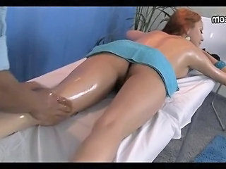 Amateur Massage Oiled Teen