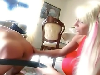 Blonde Fantasy Fetish Spanking Tattoo Mistress