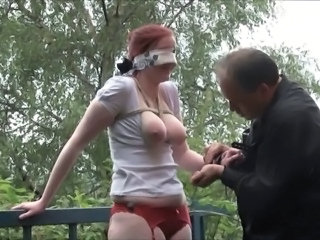 Fetish Outdoor Slave