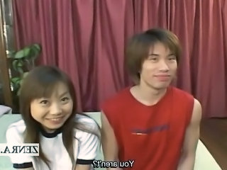 Amateur Asian Japanese School Teen Threesome Interview Foreplay Amateur