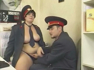 Lingerie  Russian  Uniform Police