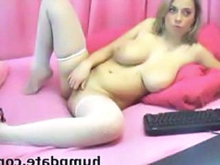 Big Tits Masturbating Stockings Webcam Boobs