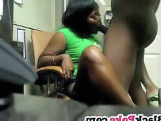 Blowjob Ebony Girlfriend