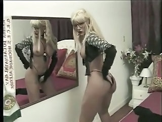 Ass Blonde Glasses Natural