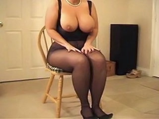 Big Tits  Natural Pantyhose Pantyhose