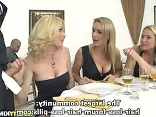 Big Tits Blonde European Groupsex