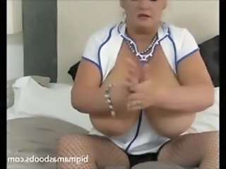 Big Tits Mature Nipples Nurse Uniform Boobs Milk