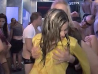 Dancing Drunk Party Public Teen Orgy