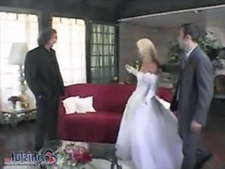 Bride Cuckold Threesome Wife Married