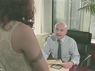 Anal European Office Secretary Boss