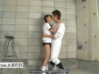 Asian Flexible Girlfriend Japanese School BaseBall