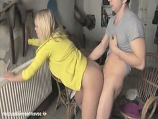 Clothed Doggystyle European Girlfriend Teen