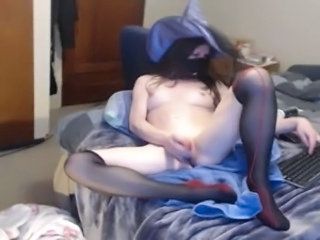 Fantasy Masturbating Stockings Webcam Cameltoe