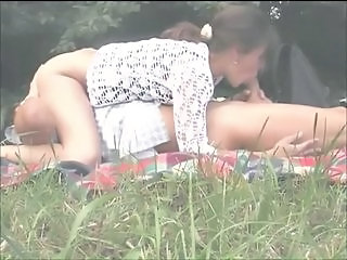 Clothed Outdoor Public Voyeur