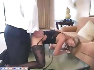 Doggystyle  Stockings Wife