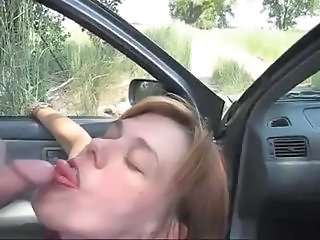 Amateur Blowjob Car  Outdoor Wife Amateur