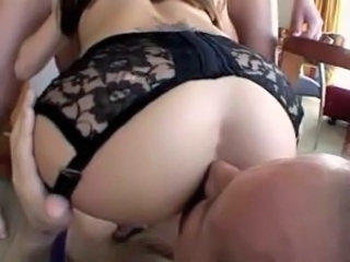 Ass Lingerie Licking