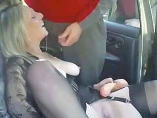 Amateur British Car Cumshot European   Stockings Swallow Wife Sperm British