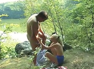 Blowjob Old and Young Outdoor Teen Outdoor