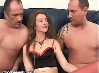 Daddy Family  Mom Old and Young Threesome