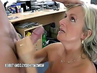Blowjob Mature Mom Old and Young Piercing