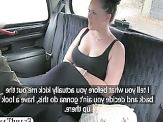 Car Creampie European