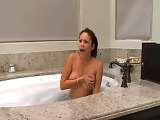 Bathroom Big Tits  Wife