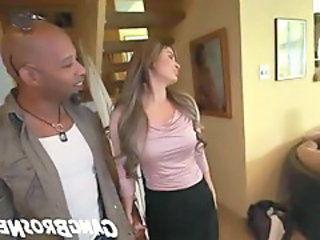 Cute European Interracial  Wife