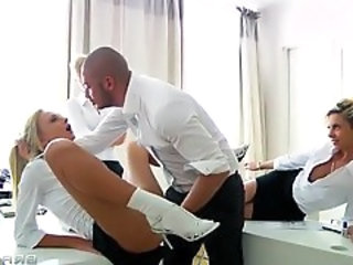 Clothed Groupsex Pornstar