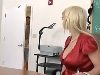 Big Tits Glasses  School Teacher