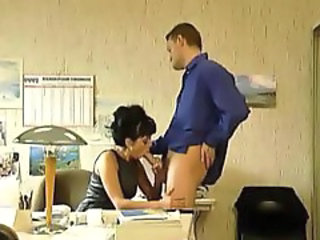 Blowjob European  Office Secretary