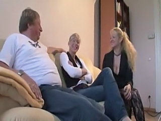 Daughter European Mom Threesome Daughter