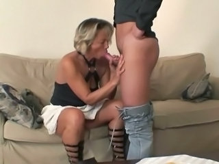 Blowjob European Granny Mother