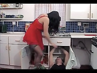 Kitchen  Russian Wife Housewife