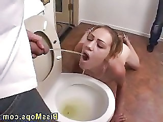 Fetish Pissing Toilet
