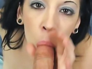 Blowjob Facial Cute
