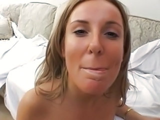 Cumshot Facial European