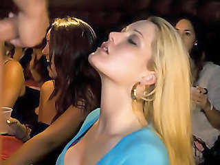 Babe Blonde Blowjob Party Teen