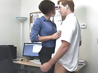 Babe Office Teen