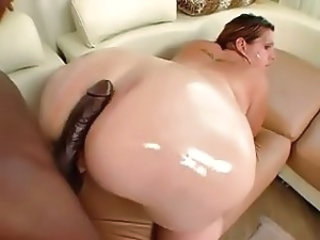 Ass   Interracial  Oiled Monster