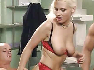 Doctor European German Lingerie   Threesome German