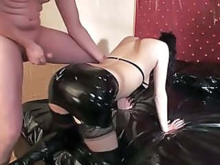 Ass Cumshot Latex