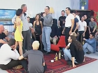 Cuckold Drunk Gangbang Party Wife German