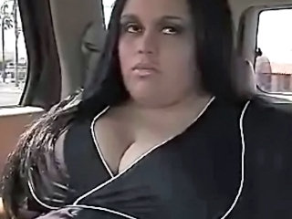 Big Tits Car Latina  Natural